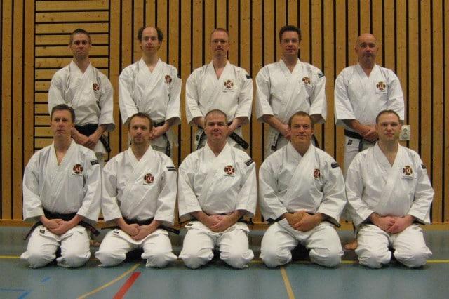 All Swedish Shibu-chō and Kantoku (coach) in April 2008
