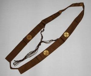 Wagesa – can be worn when one have a sōkai rank