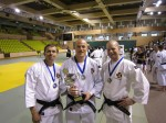 First place in the European Taikai, from left; Anders Magnuson, Alexander Tilly, Viktor Karlholm