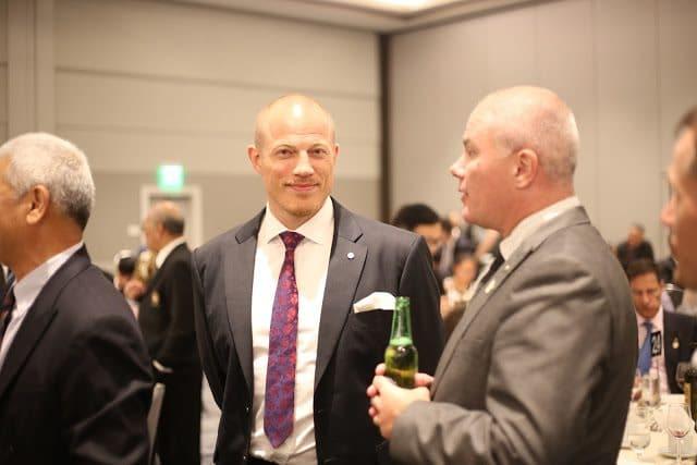Anders, ordförande i vårt svenska förbund representerade Sverige på General Meeting. Alex, vice ordförande och councilor i WSKO, deltog på Council Meeting.