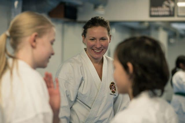 Lovisa was also one of the instructors.